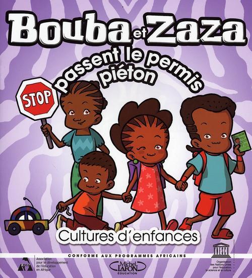 BOUBA ET ZAZA PASSENT LE PERMIS PIETON