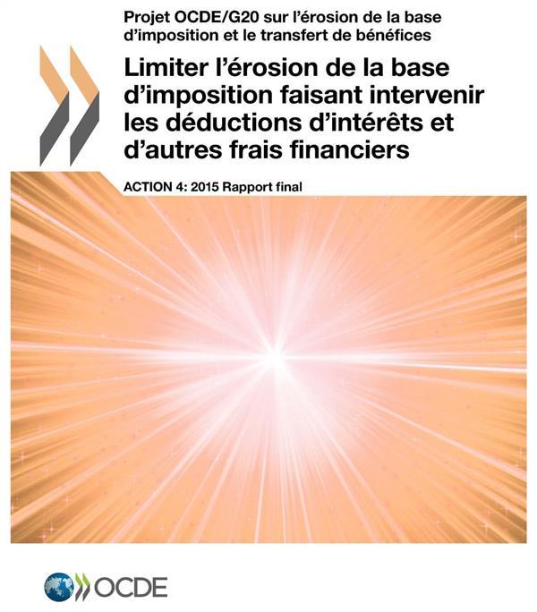 LIMITER L'EROSION DE LA BASE D'IMPOSITION FAISANT INTERVENIR LES DEDUCTIONS
