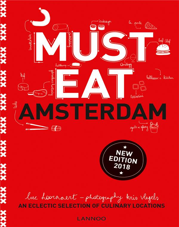 MUST EAT AMSTERDAM /ANGLAIS
