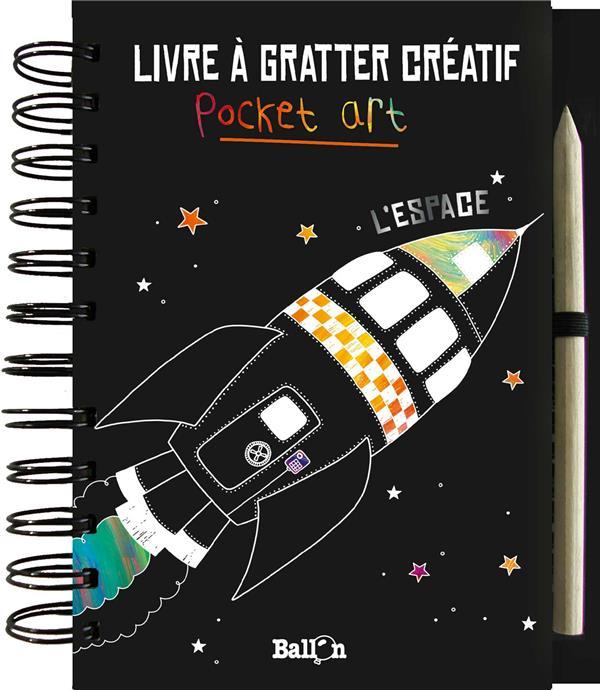 LIVRE A GRATTER : L'ESPACE