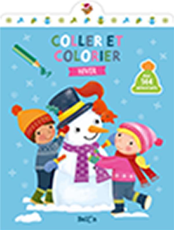 COLLER ET COLORIER - HIVER