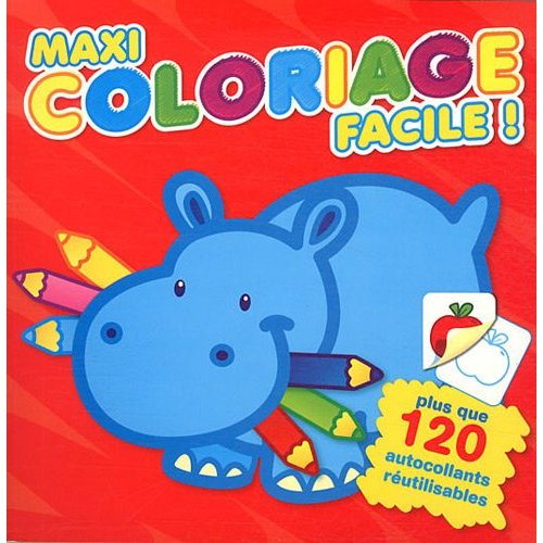 MAXI COLORIAGE FACILE