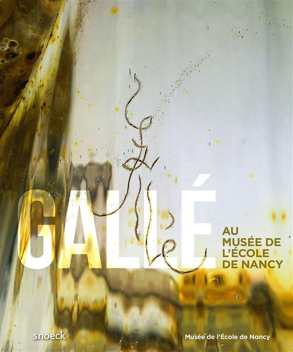 GALLE AU MUSEE DE L'ECOLE DE NANCY