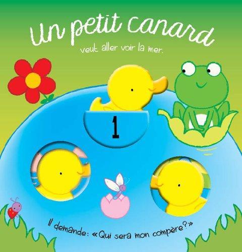 PETIT CANARD (UN) LIVRE BAIN AVEC FENETRE