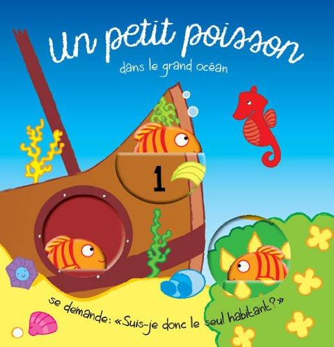 PETIT POISSON (UN) LIVRE BAIN AVEC FENETRES