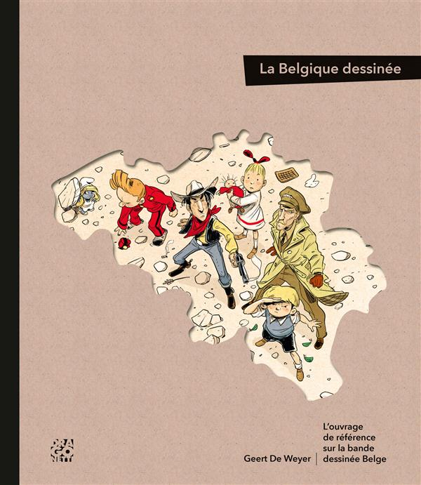 DRAGONETTI LA BELGIQUE DESSINEE