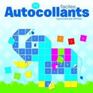 AUTOCOLLANTS FACILES 5-6 ANS