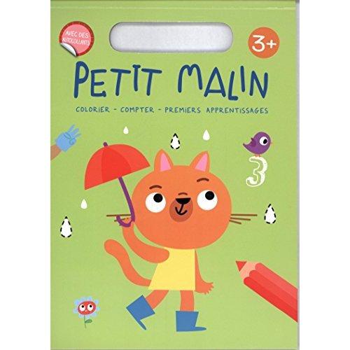 3+ COLORIER COMPTER PREMIERS APPRENTISSAGES - PETIT MALIN