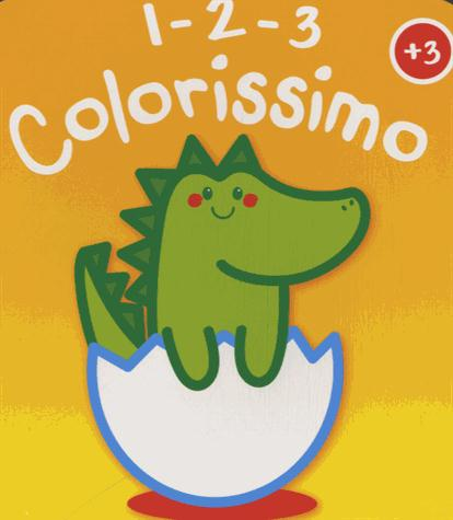 DINOSAURE 1 2 3 COLORISSIMO + 3 ANS