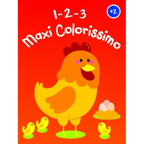 POULE 123 MAXI COLORISSIMO +2
