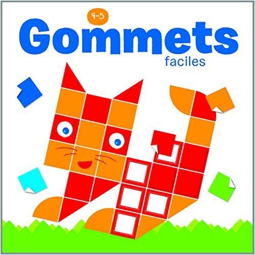 4-5 ANS GOMMETTES FACILES