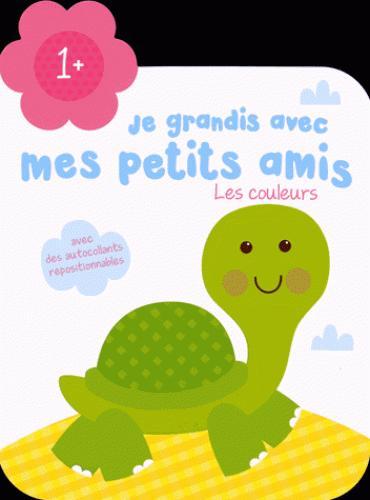 JE GRANDIS AVEC MES PETITS AMIS 1+ LES COULEURS TORTUE