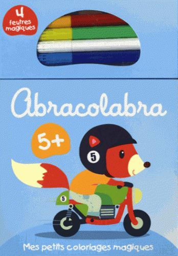5+ LA MOTO ABRACOLABRA BLEU