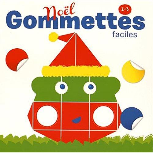NOEL GOMMETTES FACILES 2-3 ANS
