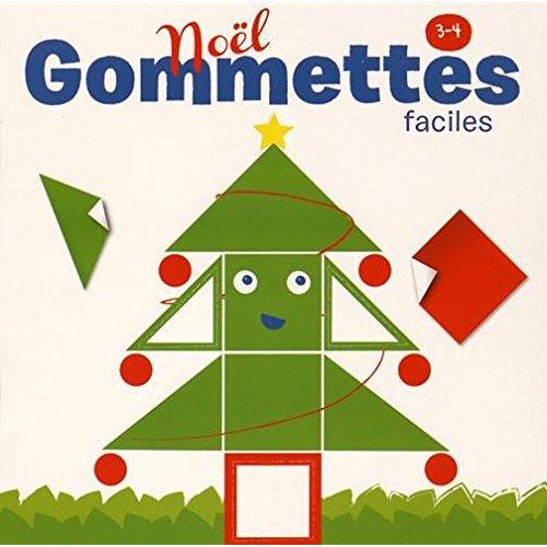NOEL GOMMETTES FACILES 3-4 ANS
