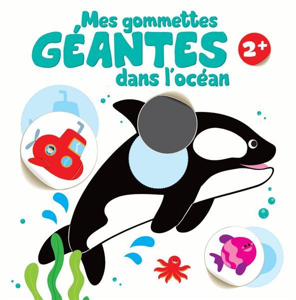 GOMMETTES GEANTES DANS L'OCEAN 2 ANS ET PLUS