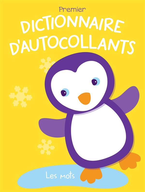 DICTIONNAIRE D'AUTOCOLLANTS LES MOTS