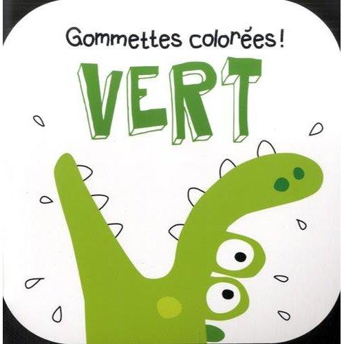VERT CROCODILE GOMMETTES COLOREES !
