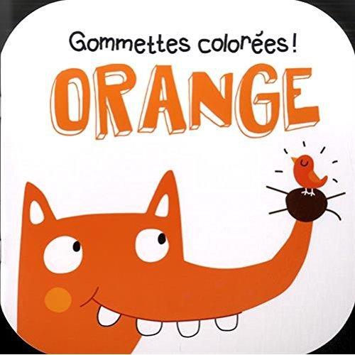 ORANGE RENARD GOMMETTES COLOREES !