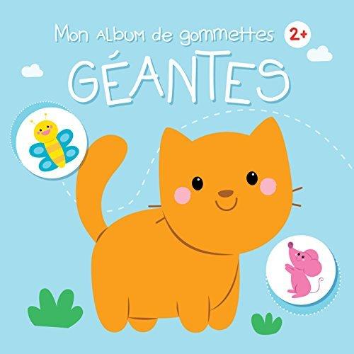 2+ CHAT MON ALBUM DE GOMMETTES GEANTES