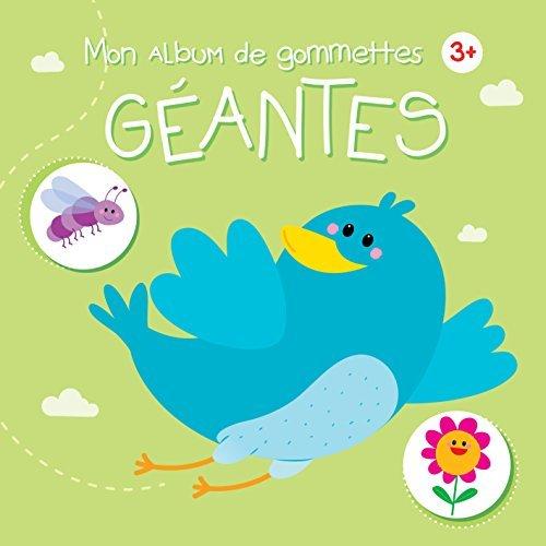 3+ OISEAU MON ALBUM DE GOMMETTES GEANTES