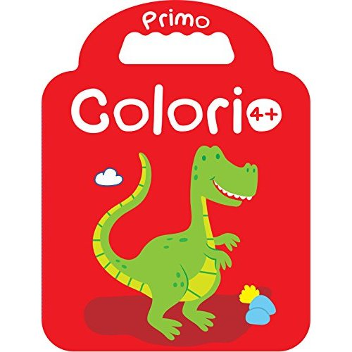 PRIMO COLORIO 4+ DINOSAURE