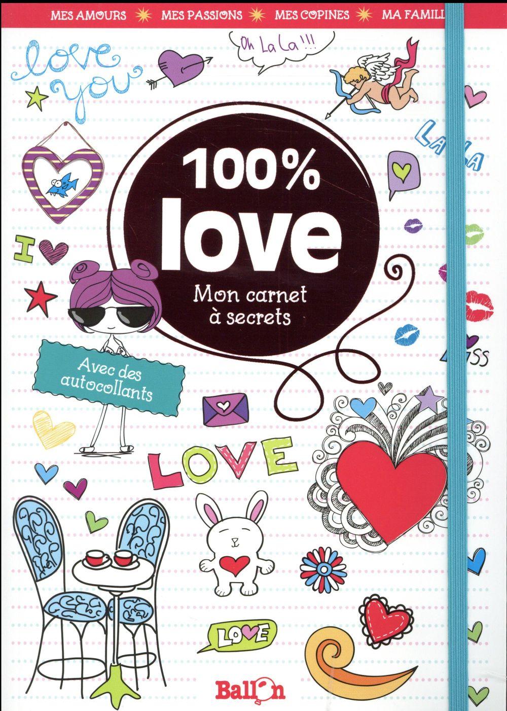 MON CARNET 100% LOVE