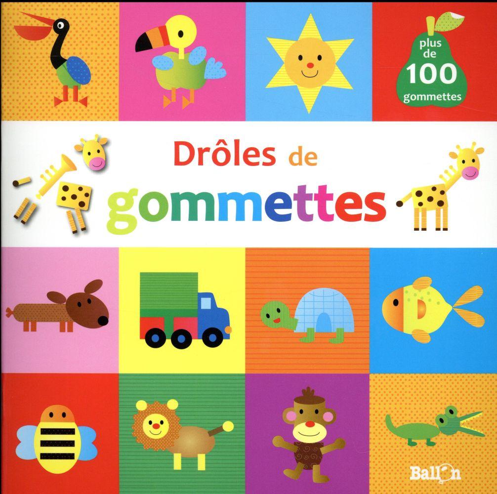 DROLES DE GOMMETTES (GIRAFE)