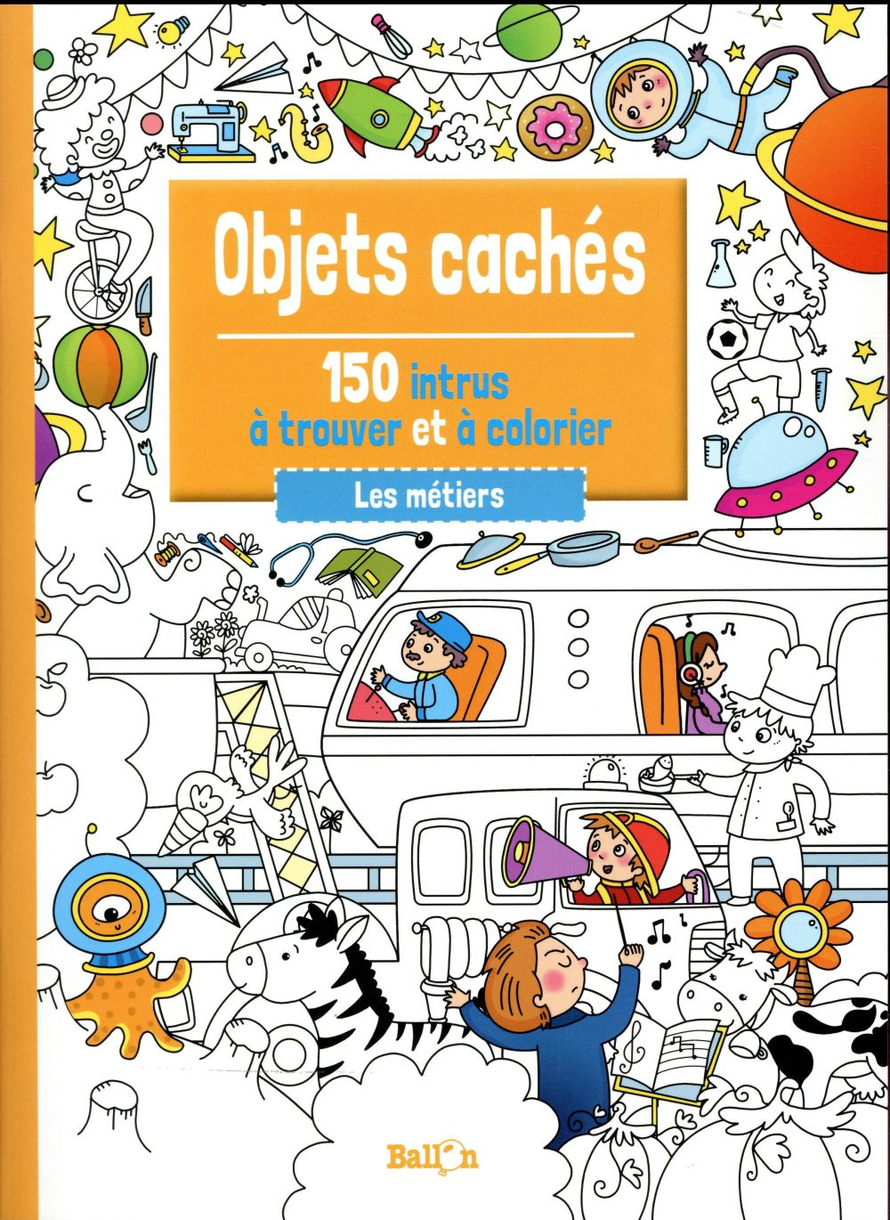 OBJETS CACHES: LES METIERS