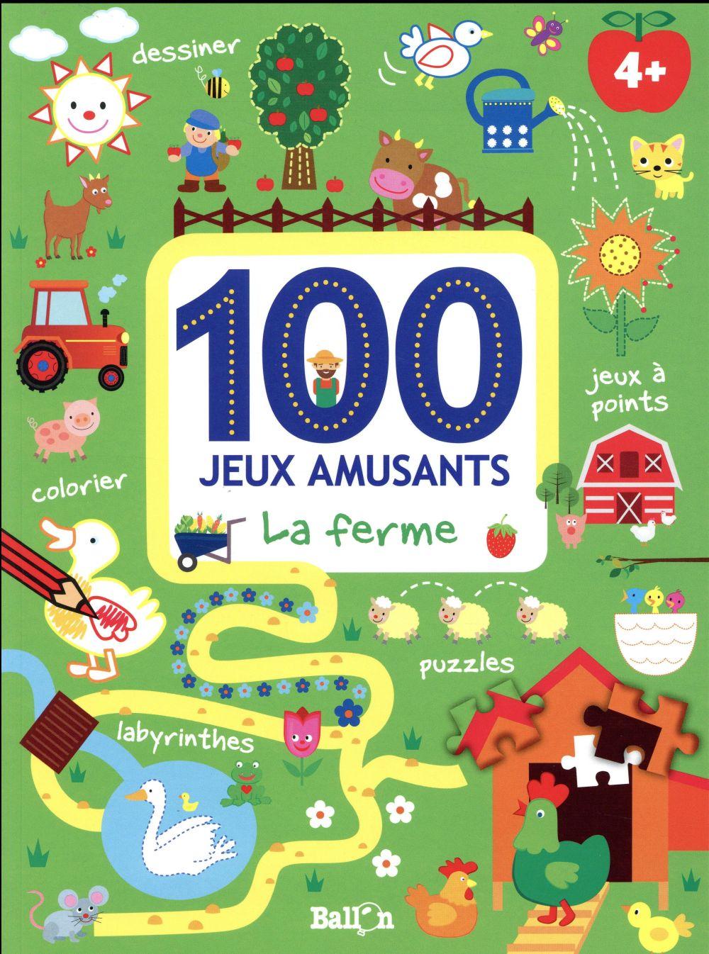 100 JEUX - LA FERME