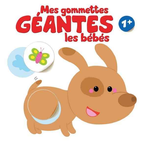 GOMMETTES GEANTES LES BEBES (MES) 1+