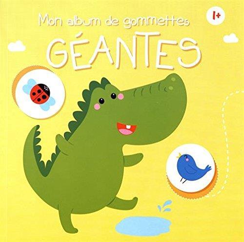 ALBUM DE GOMMETTES GEANTES (MON) 1+