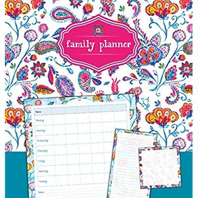 FAMILY PLANNER FLEURS