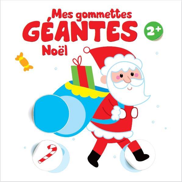MES GOMMETTES GEANTES NOEL 2+