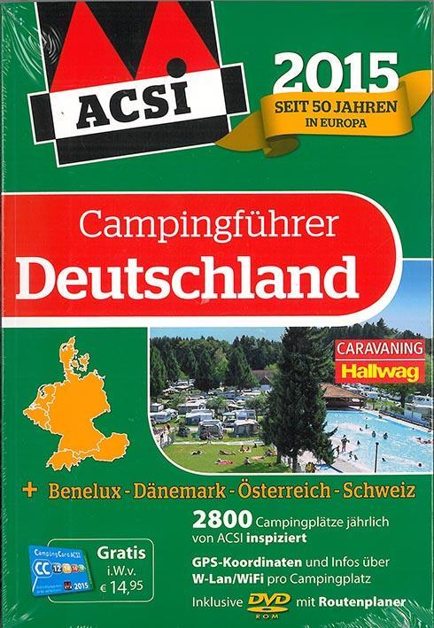 **EUROPE ACSI G.CAMPING 2015 (ALL)INKLUSIVE DVD-ROM