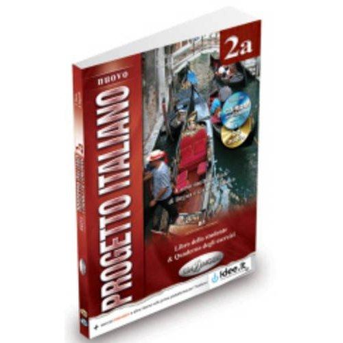 NUOVO PROGETTO ITALIANO / 2 (B1-B2) / 2A (B1) ELEVE+EX+CD+DVD