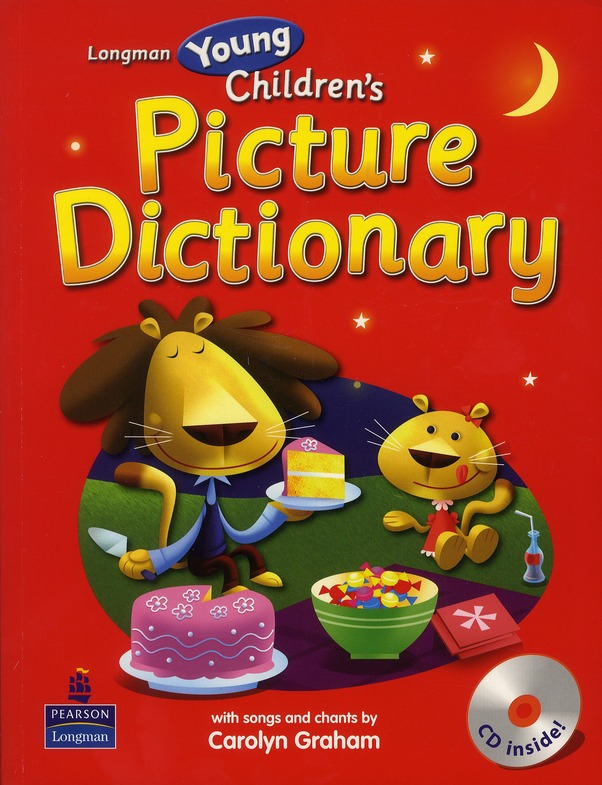 YOUNG CHILDREN'S PICTURE DICTIONARY WITH CD