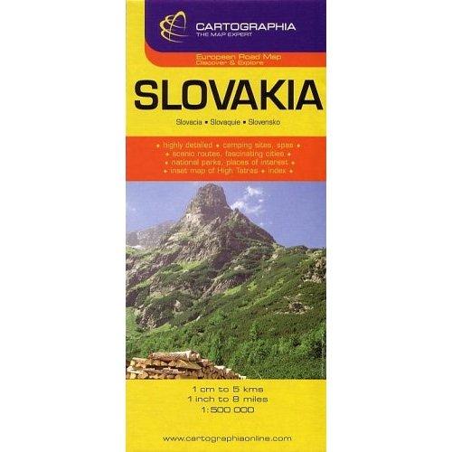 SLOVAQUIE (CARTE CARTOG)