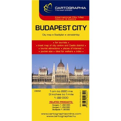 BUDAPEST (PLAN CARTOGRAPHIA)