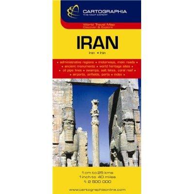 IRAN (CARTE CARTOG)