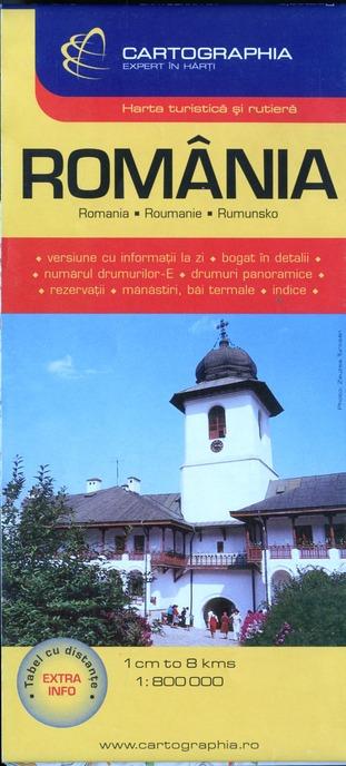 ROMANIA (CARTE CARTOG)