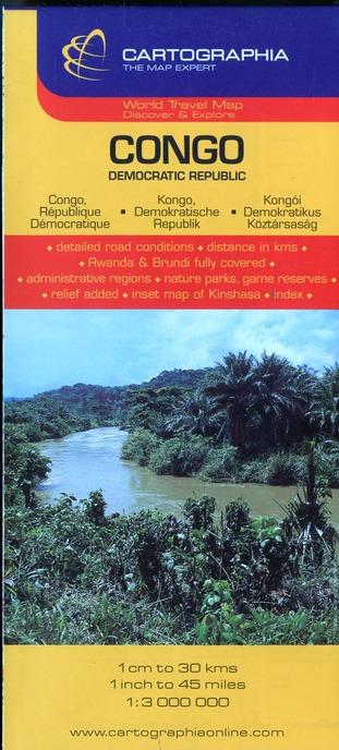 CONGO (CARTE CARTOG)