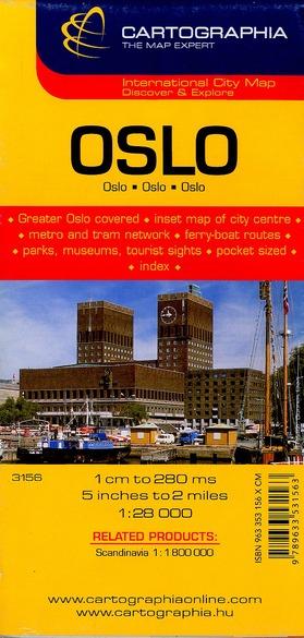 OSLO (PLAN CARTOGRAPHIA)