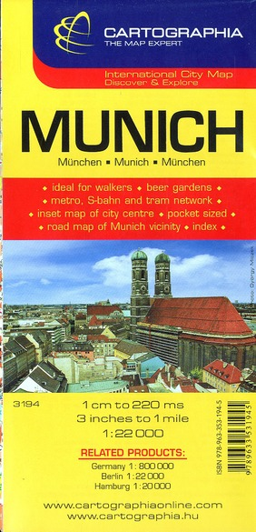 MUNICH (PLAN CARTOGRAPHIA)
