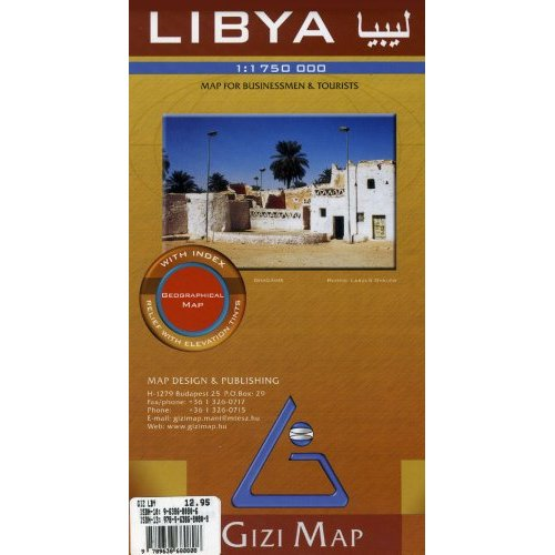 LIBYA  1/1M75 (GEOGRAPHICAL)