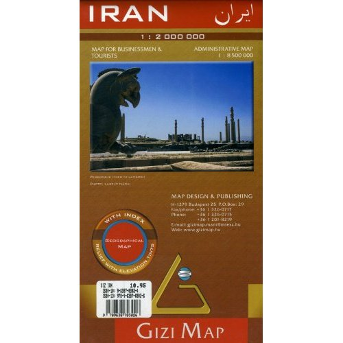 IRAN  1/2M (GEOGRAPHICAL)