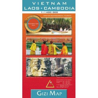 VIETNAM/LAOS/CAMBODIA 1/1M4 GEOGRAPHICAL