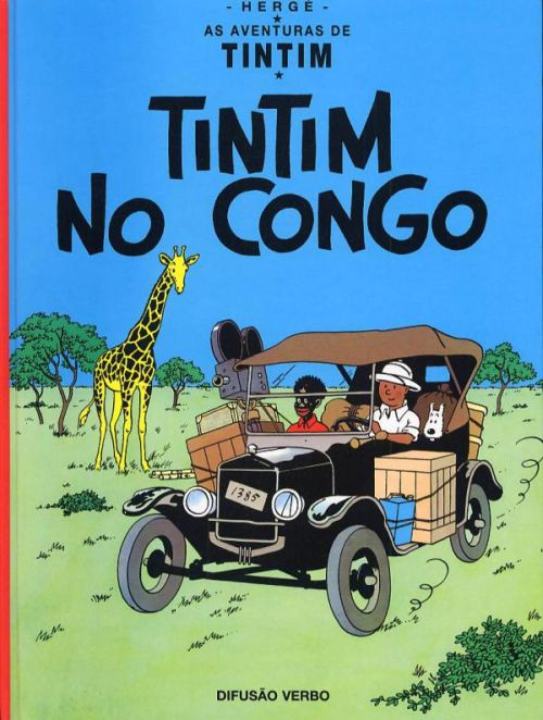 TINTIN AU CONGO (PORTUGAIS VERBO)