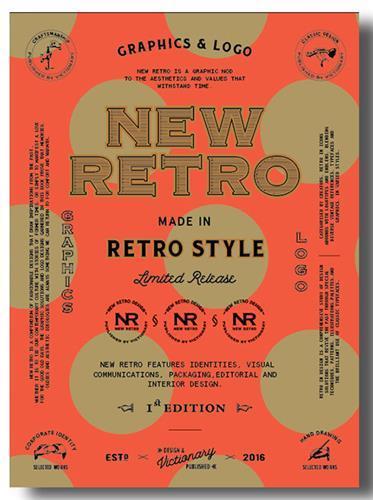 NEW RETRO - GRAPHICS AND LOGO IN RETRO STYLE /ANGLAIS