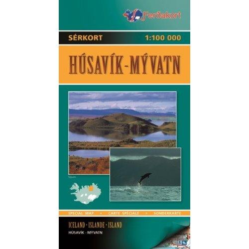 HUSAVIK/LAKE MYVATN 3  1/100.000